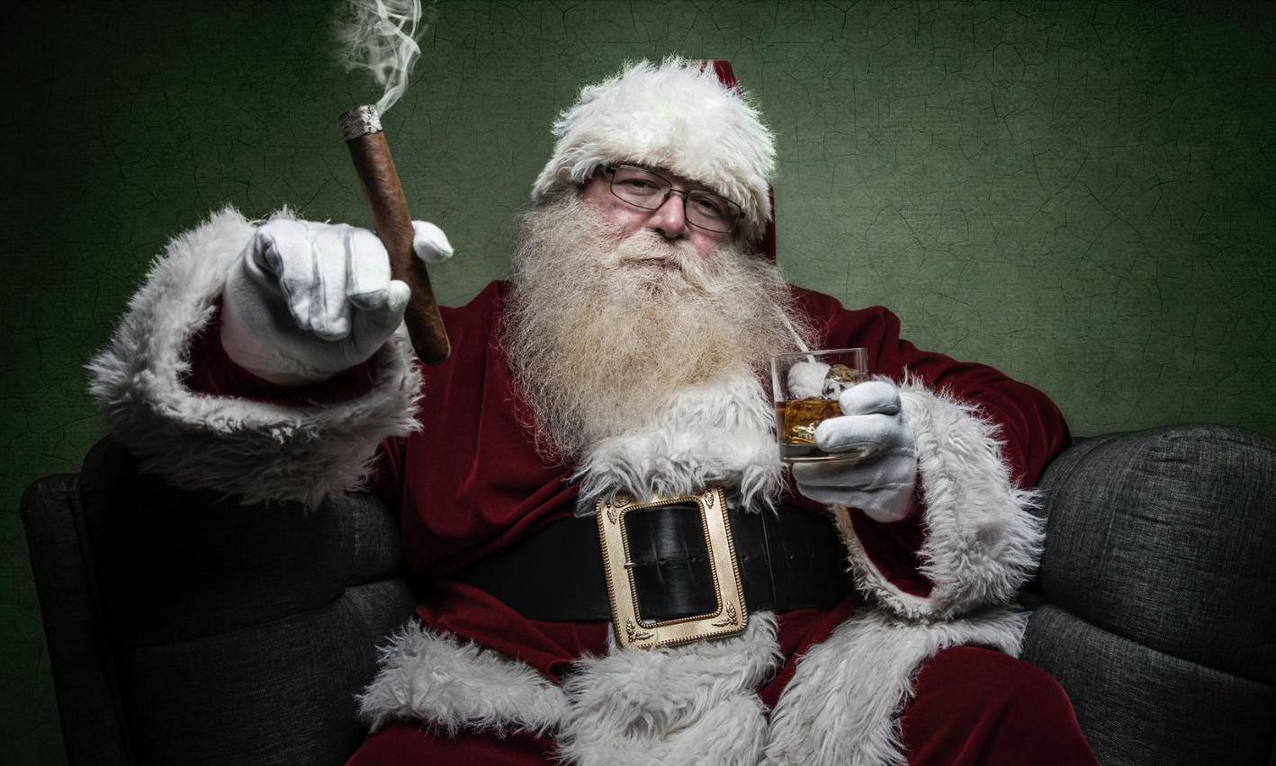 De kerstman als sekssymbool!